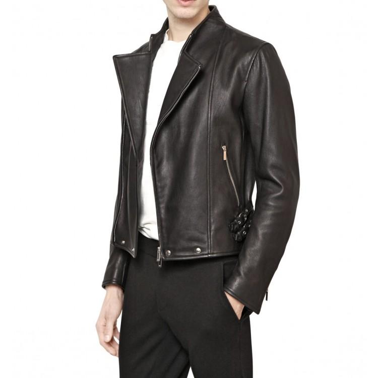 Leather Jacket Motorcycle Style