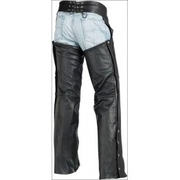 Custom Leather Riding Cowboy Chaps for Men