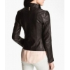 Best Designer High Quality Real Lambskin Brown Leather Jacket