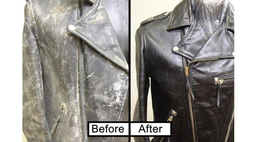 Leather Coat Restoration