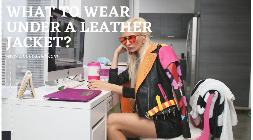What to Wear under a Leather Jacket?