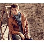 Be Trendy in Leather Bomber Jacket