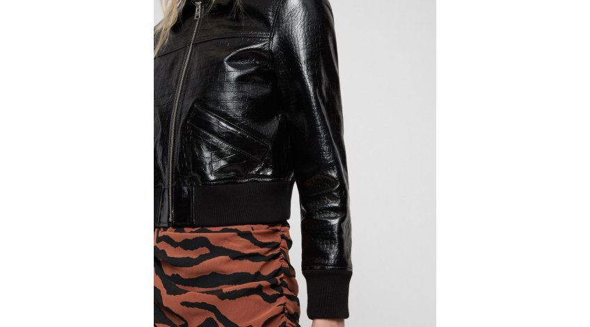 How Should a Leather Bomber Jacket Fit Women?