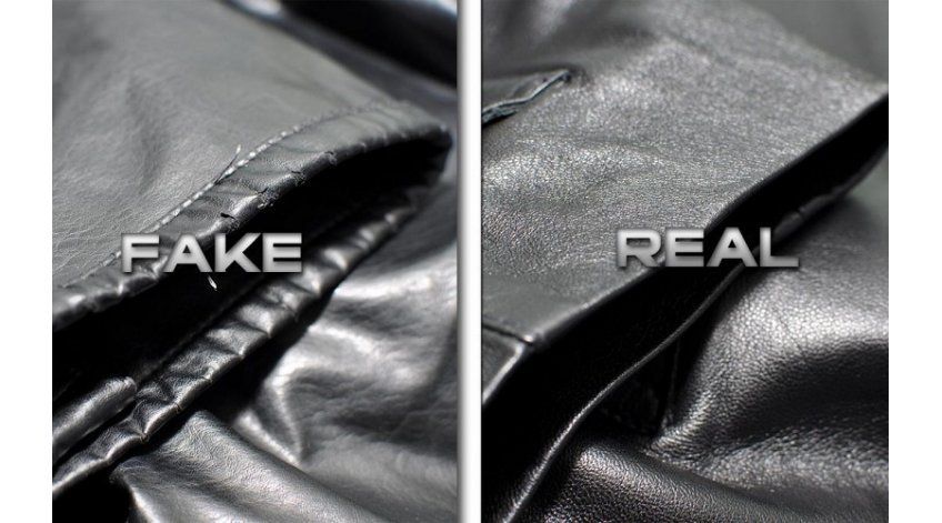 How to Know Real Leather from Fake?