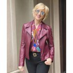 How to Style a Leather Blazer Women over 50?