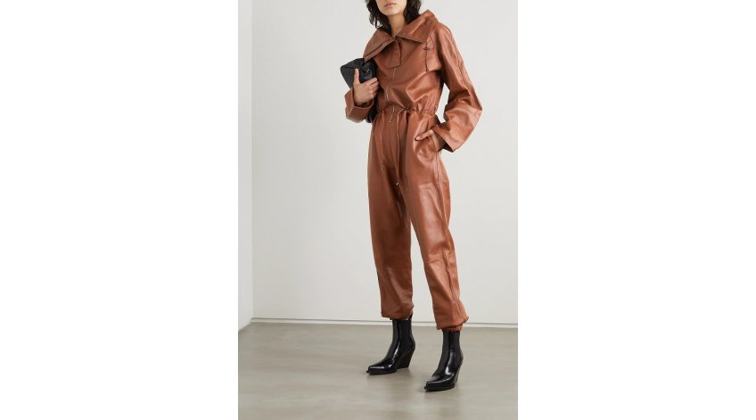 How to Wear a Leather Jumpsuit?