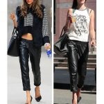 How to Wear Leather Pants in Summer?