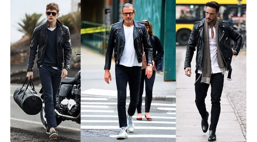 Every Man Should Own A Leather Biker Jacket