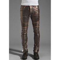 Rogue Leather Pants in Dark Brown for Men